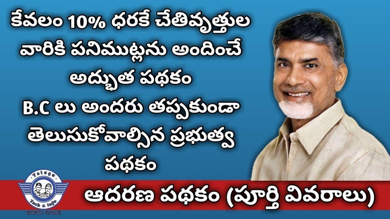 Adarana scheme in ap || Telugu Tech and Info