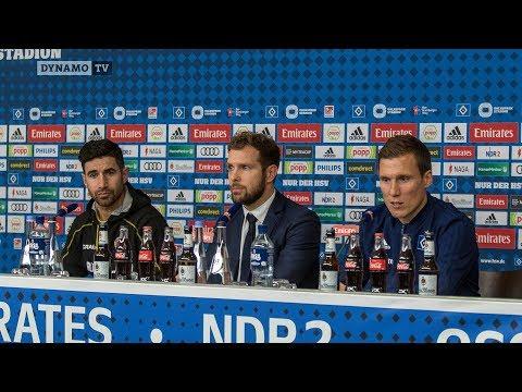 21. Spieltag | HSV - SGD | Pressekonferenz nach dem Spiel