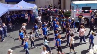 Princess Cruises FLASH MOB!! Regal Princess Inauguration Celebration - Corporate Offices Valencia,CA