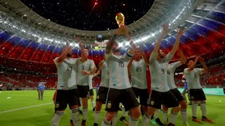 FIFA 18 World Cup Russian Messi Won His First World Cup By Palty shoot out Argentina Vs Belgium