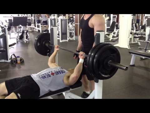 300 Pound Bench Press @ 174 lbs