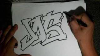 Drawing a Simple Graffiti (Requested)- (JOSE)