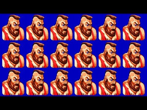 ザンギエフ(Zangief) - STREET FIGHTER II Turbo