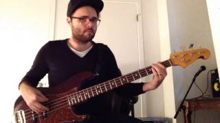 """Grace Like A Wave"" Elevation Worship - Bass Cover"