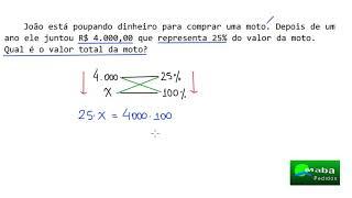REGRA DE TRÊS SIMPLES -  Pedido por aluno