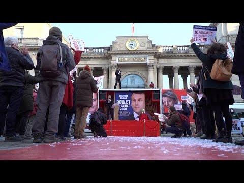 شاهد: غرينبيس تنظم حفلا ساخرا أمام الجمعية الوطنية للمطالبة بالاهتمام بالقضايا البيئية …  - نشر قبل 4 ساعة
