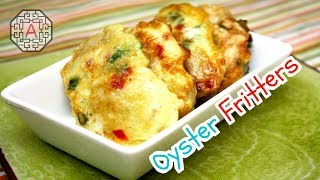Korean Food: Oyster Jeon (굴 전)