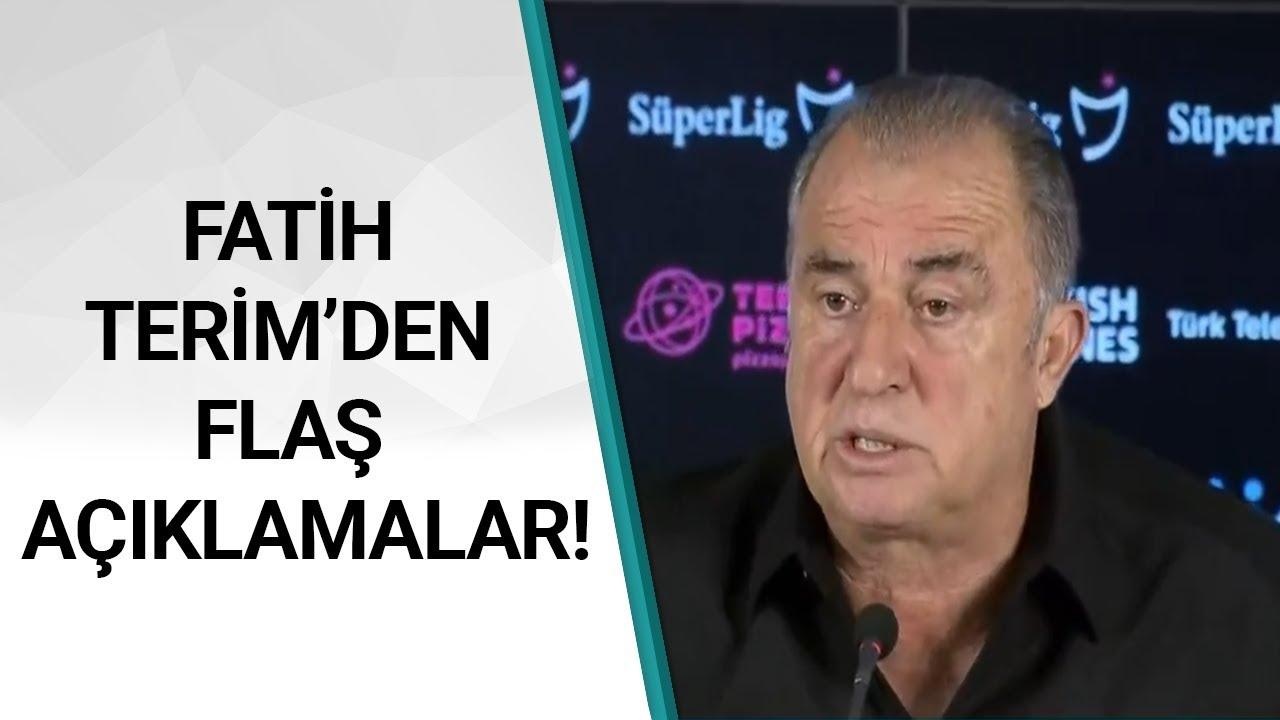 Galatasaray 0 - 0 Beşiktaş Fatih Terim Maç Sonu Basın Toplantısı Düzenledi! / A Spor