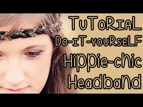 DIY   Fascetta hippie-chic per capelli