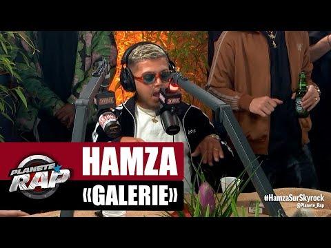 """[Exclu] Hamza """"Galerie"""" #PlanèteRap"""