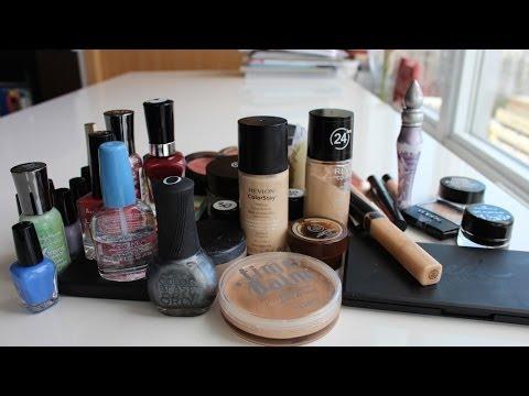 Makyaj Koleksiyonu Bahar Temizligi - Makeup Declutter in Turkish