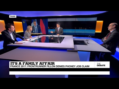 It's a family affair: France 2017 frontrunner Fillon denies phoney job claim