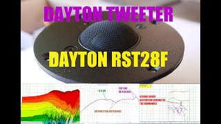 Dayton Audio RST28F tweeter | Test and Review
