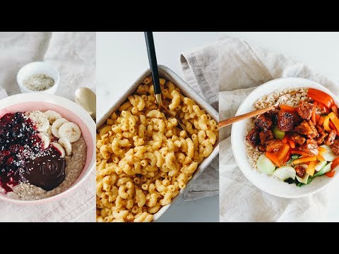 What I Eat in a Day 2019 | vegan quick & easy recipes