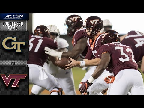 Georgia Tech vs. Virginia Tech Condensed Game | 2018 ACC Football