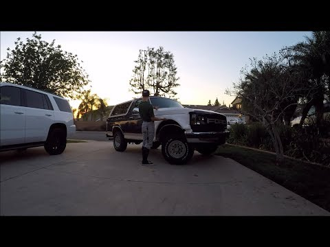 Unboxing My Fiberglass Fenders Ford Bronco Pre Runner Build Part