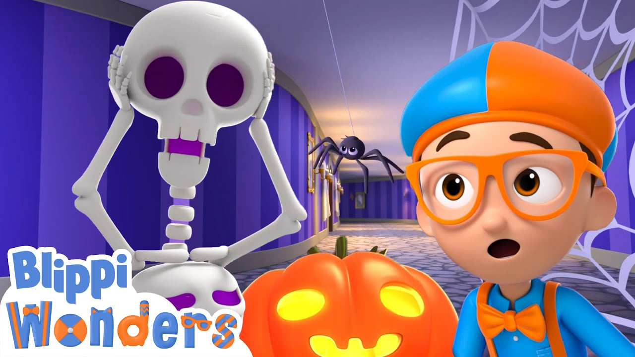 Blippi Wonders - Halloween Special For 20 Minutes! | Blippi Animated Series | Cartoons For Kids