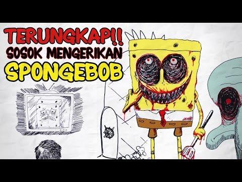 BIKIN MERINDING! Kamu Harus Tau Misteri Spongebob Yang Sudah Terungkap  DRAWSTORY Horor Mistis