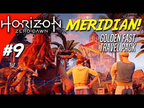 MERIDIAN + Golden Fast Travel Pack! - Horizon Zero Dawn Dansk Ep 9