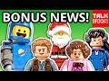 BONUS LEGO NEWS! Harry Potter Bricktober! Jurrassic World Secret Exhibit! LEGO Movie 2 Benny! & MORE