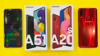 Samsung Galaxy A51 vs Samsung Galaxy A20s