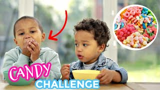 HILARIOUS CANDY CHALLENGE FAIL WITH 2 & 4 YEAR OLD ?? (FROM TIK TOK) | THE ADANNA DAVID FAMILY