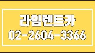 라임렌트카,라임렌트카양천영업소,강서구렌트카