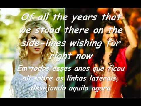 Taylor Swift - Long Live - Feat. Paula Fernandes - Legendado -