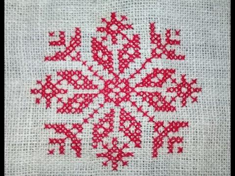 Beautiful cross stitch design