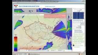 [Bouřky] Radarová data 7.7.2015