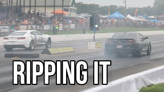 Texas Speed and Performance ripping it at LS Fest East 2018