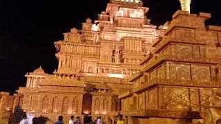 BAHUBALI MAHISMATI IN DURGAPUR. BEST PUJA PANDAL OF WEST BENGAL 2017