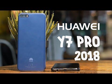 Trên tay Huawei Y7 Pro 2018: màn 18:9, cam kép giá 3.990