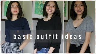 Basic School Outfit Ideas (Philippines) | Ann V