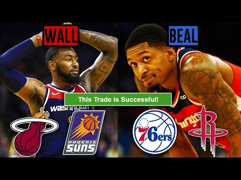 NBA Trade Machine #2: John Wall And Bradley Beal