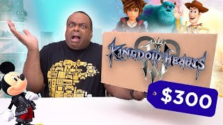 WAIT. I paid $300 for THIS Kingdom Hearts 3 Collector's Edition?!