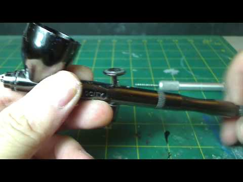 Airbrushing for the Beginner #3: Basic Mechanics, thinning paint and cleaning