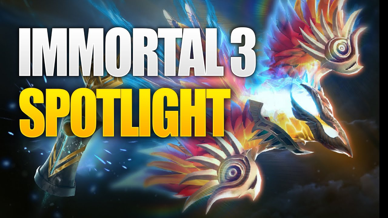 Immortal Treasure 3 Spotlight - The International 10 Dota 2 thumbnail