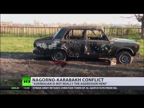 Nagorno-Karabakh: Fighting still ongoing amid 'ceasefire'