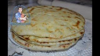 Как сделать хачапури с сыром на сковороде в домашних условиях