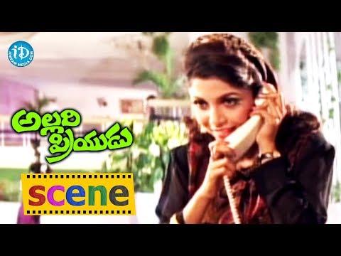 Allari Priyudu Movie Scenes - Ramya Krishna Warns Babu Mohan For Troubling Rajasekhar
