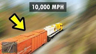 GTA 5 - 10,000MPH Train vs. EVERYTHING!! (Incredible)