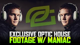 EXCLUSIVE OPTIC HOUSE FOOTAGE W/ MANIAC