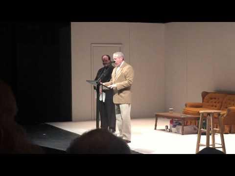 Steinberg/ATCA award presentation at 2015 HumanaFest