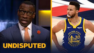 Steph Curry is playing unbelievable, but it may not be enough for MVP — Shannon | NBA | UNDISPUTED