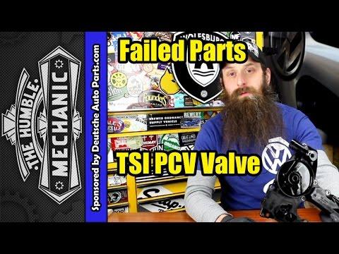 How The VW 2.0t TSI PCV Valve Fails