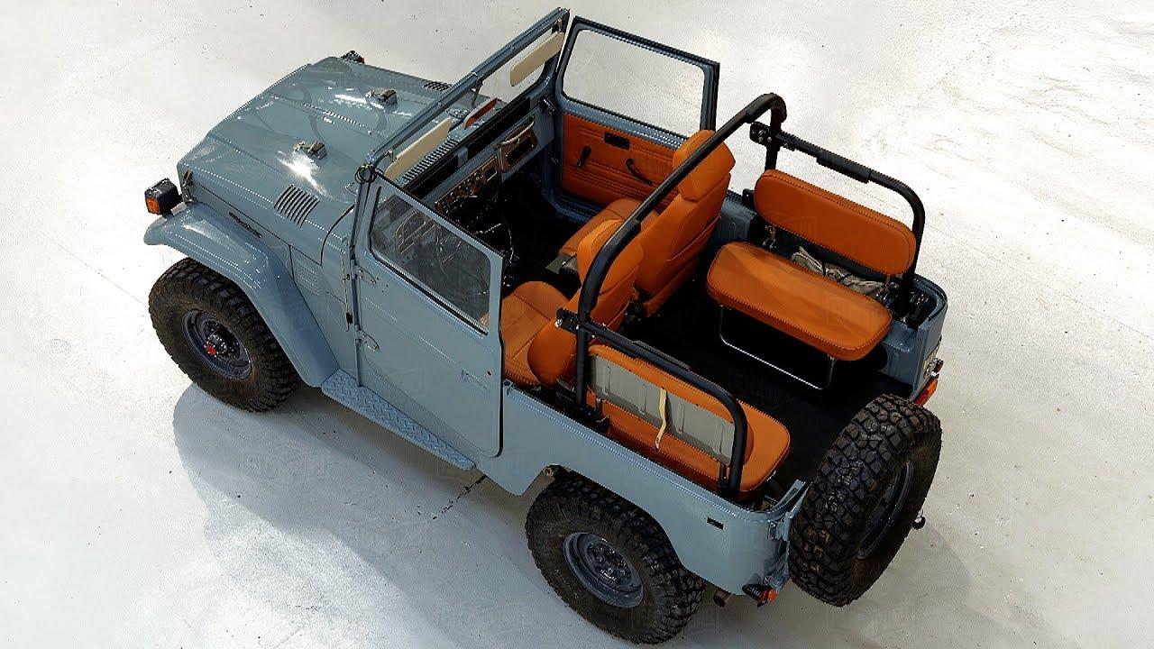 1983 Toyota Land Cruiser FJ40 Full Frame-off Restoration Project