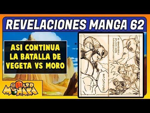 FILTRACIÓN IMPACTANTE de la BATALLA DE VEGETA VS MORO en el MANGA 62 de DRAGON BALL SUPER en ESPAÑOL from YouTube · Duration:  5 minutes 7 seconds