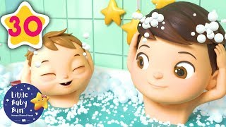 Bath Time Song | Kids Songs | Little Baby Bum | Moonbug TV After School