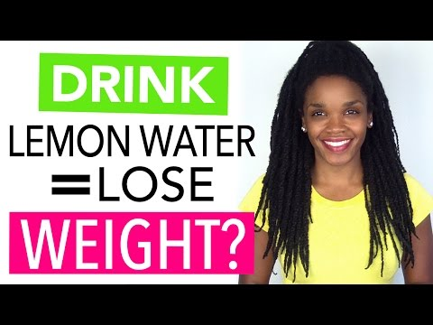 Drink Lemon Water To Lose Weight